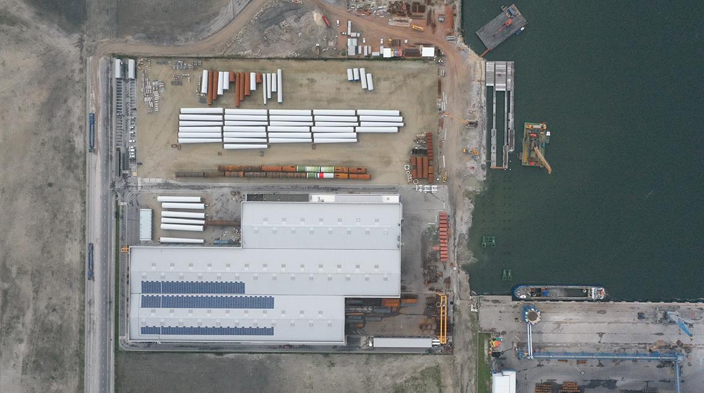 UNIDADE INDUSTRIAL ASMO OFFSHORE, Terminal Norte do Porto de Aveiro, Ílhavo