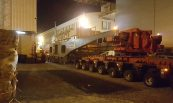 Veículo especial para transporte de transformadores até 500t - EFACEC